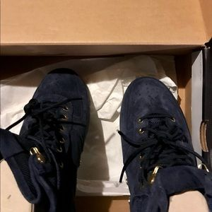 Nike Shoes - Nike SF Air Force 1 MID 917753-400 Obsidian Suede dfefb3b1308
